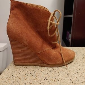 authentic leather Steve Madden booties